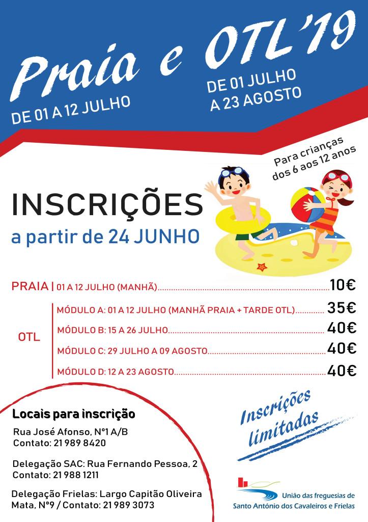 Inscrições Praia.OTL 2019-01